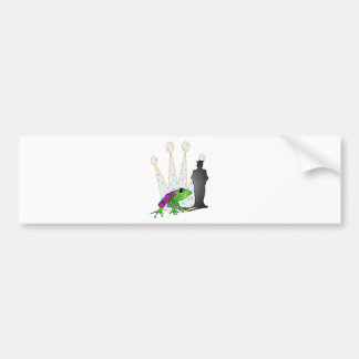 Kiss the Frog Bumper Sticker