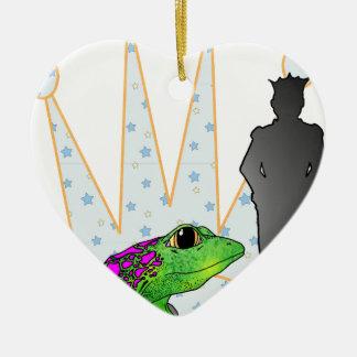 Kiss the Frog Christmas Ornaments