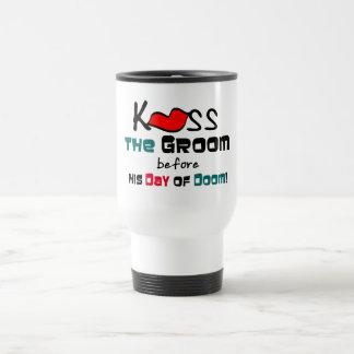 Kiss the Groom Bachelor Party Mug