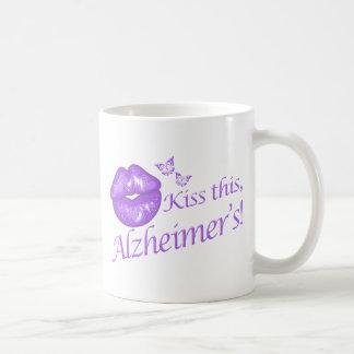 Kiss This Alzheimer s Coffee Mug