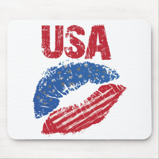 Kiss USA Mouse Mat