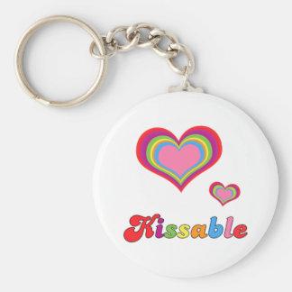 kissable keychains