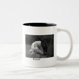 Kissed Two-Tone Mug