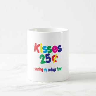 KISSES 25 Cents ... College Fund Coffee Mug