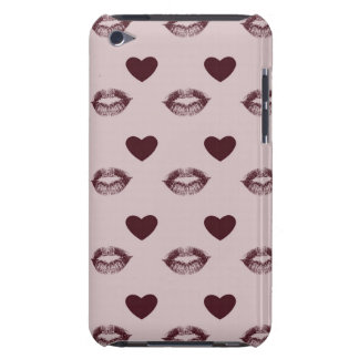 Kisses and Hearts iPod Touch Cover
