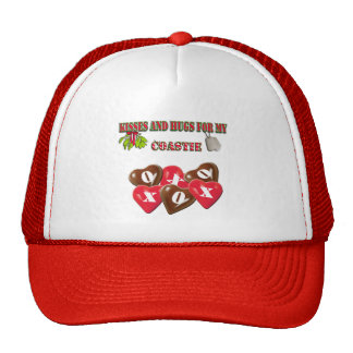 Kisses And Hugs For My Coastie Hat