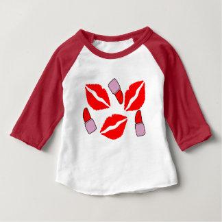 kisses and lipsticks baby T-Shirt
