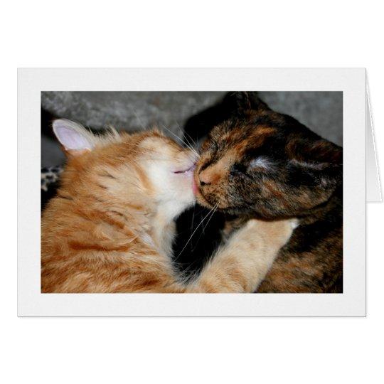kisses! card
