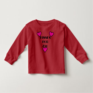 Kisses for 25 cents - Toddler Long Sleeve T-Shirt