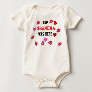 Kisses from Grandma Baby Shirt