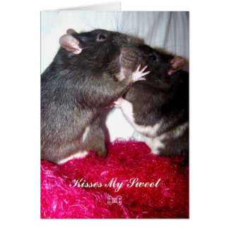 Kisses My Sweet Card