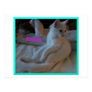 Kissia/Little  Fox Lookalike Postcard
