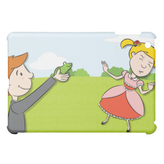 Kissing a Frog iPad Case