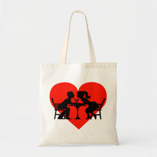 Kissing At The Soda Shop Tote Bag