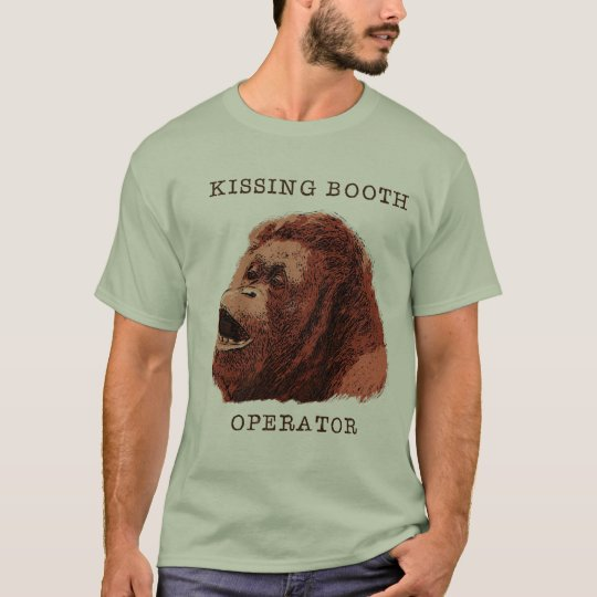 Kissing Booth Orangutan T-Shirt