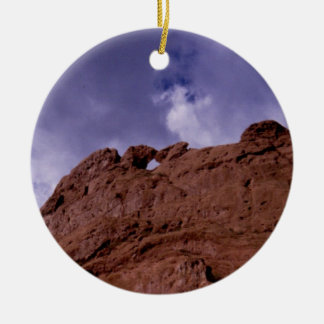 Kissing Camels Christmas Ornament