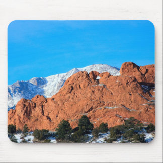 Kissing Camels in Garden of the Gods Park Mouse Mat