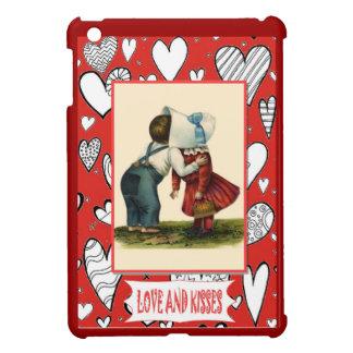 Kissing couple iPad mini covers