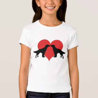 Kissing dogs shirts