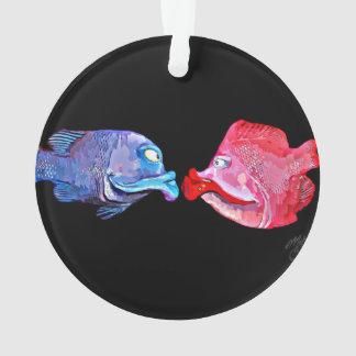 """Kissing Fish"" Art by Mike Quinn"