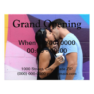 Kissing Full Color Flyer