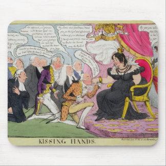 Kissing Hands, published 1827 (colour litho) Mouse Pad