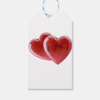 Kissing Horses Loveheart Gift Tags