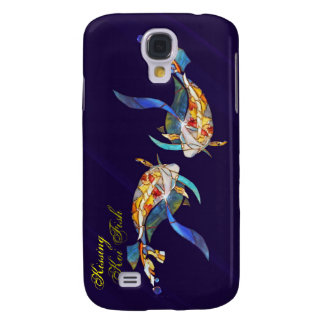 Kissing Koi Fish Exent  Galaxy S4 Covers