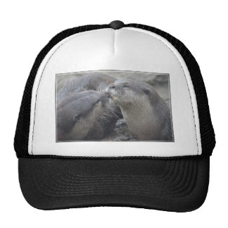 Kissing River Otters Hats