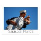 Kissing Sailor, Sarasota Postcard