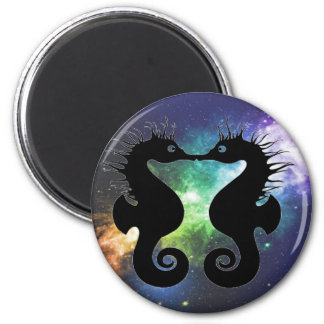 Kissing Seahorse magnet