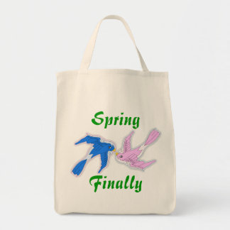 Kissing Swallows Bag