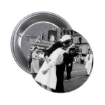 Kissing the War Goodbye at Times Square 6 Cm Round Badge