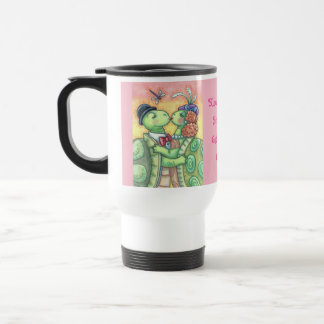 Kissing Turtles VALENTINE TRAVEL MUG