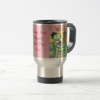 Kissing Turtles VALENTINE TRAVEL MUG *Customize
