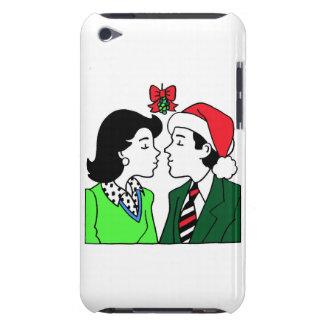 Kissing Under Mistletoe iPod Touch Case-Mate Case