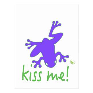 Kisss The Frog Postcard