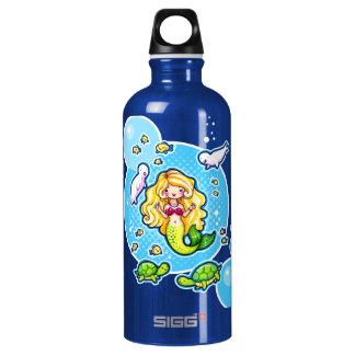 Kissy Bubble Cute Mermaid SIGG Traveller 0.6L Water Bottle
