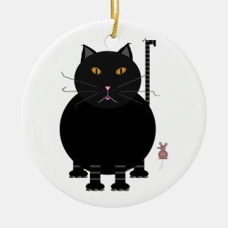 Kit Kat and Mouse Christmas Ornament