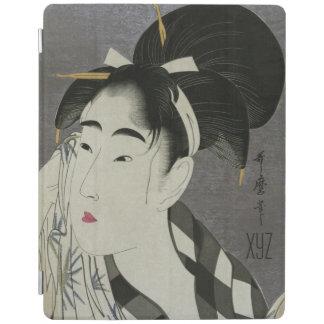 Kitagawa Utamaro's Ase O Fuku Onna covers iPad Cover