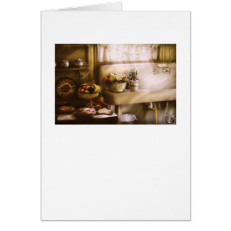 Kitchen - A 1930's Kitchen Greeting Card