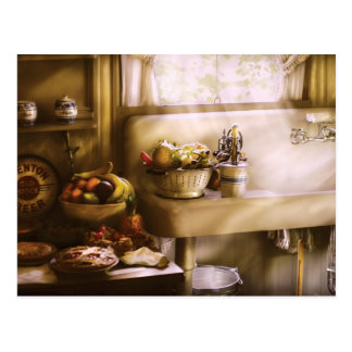 Kitchen - A 1930's Kitchen Postcard