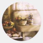 Kitchen - A 1930's Kitchen Round Sticker