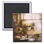 Kitchen - A 1930's Kitchen Square Magnet