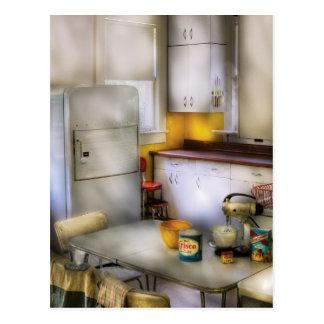 Kitchen - A 1960 s Kitchen Post Card