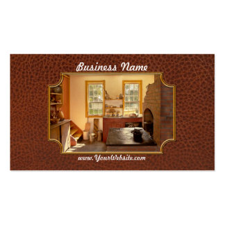 Kitchen - An 1840's Kitchen Pack Of Standard Business Cards