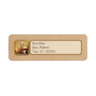 Kitchen - An 1840's Kitchen Return Address Label