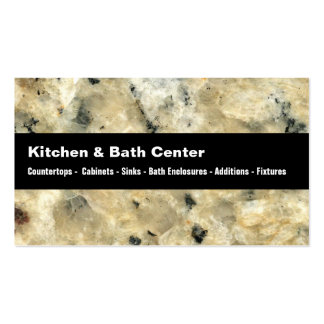 Kitchen And Bath Business Cards