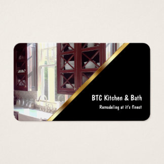 Kitchen And Bath Remodeling Business Card