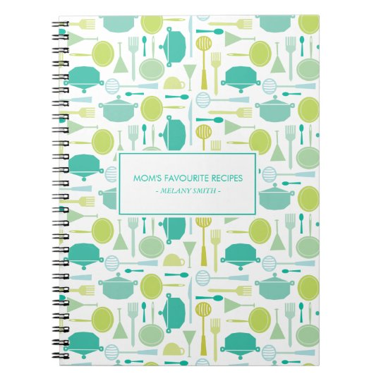 Kitchen Appliance Mum's Favourite Recipes Notebook